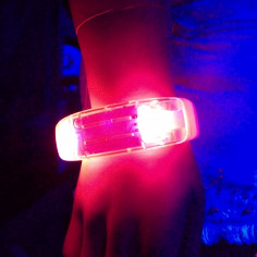 Bracelet Lumineux Led Sound Control