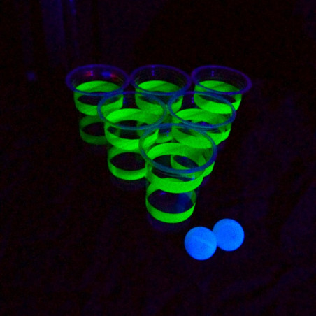 Kit Beer Pong Phosphorescent