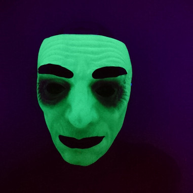 Masque Phosphorescent Homme