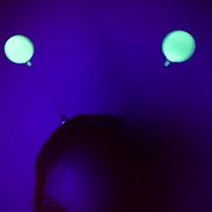 Serre-tête boules phosphorescentes