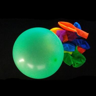 Ballon Fluo Multicolore - Lot de 10