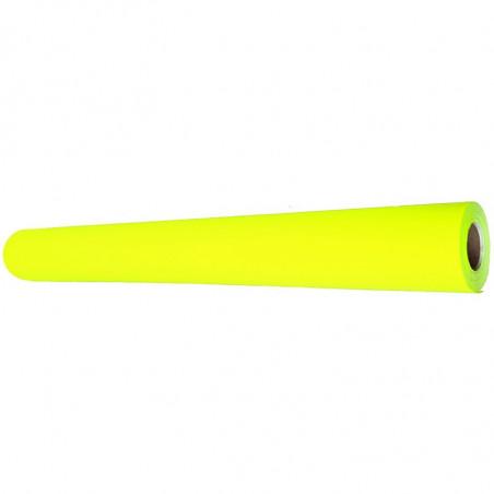 Papier Fluo 10 mètres jaune