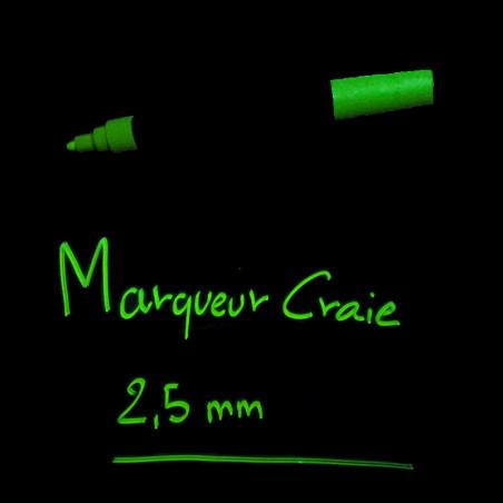 Marqueur Craie Fluo 2,5 mm