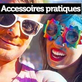 Accessoires pratiques color run