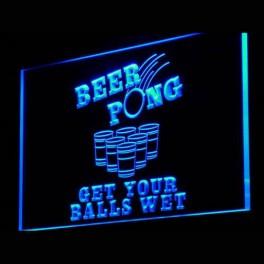 Cadre Beer Pong Neon