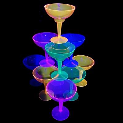 Coupe à Champagne Fluo