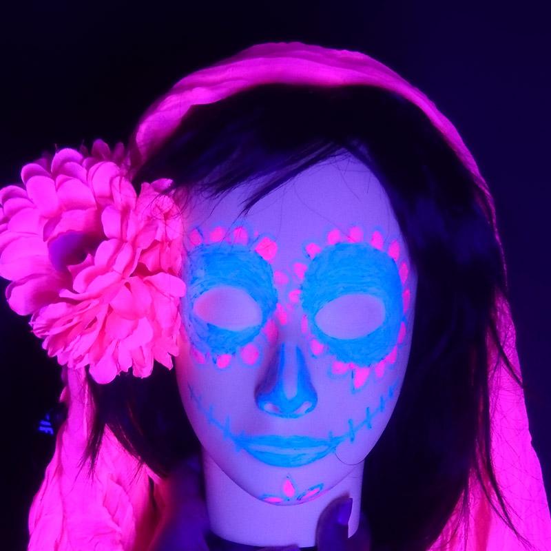 maquillage-fluorescent-halloween