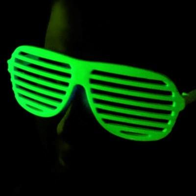 lunettes striées