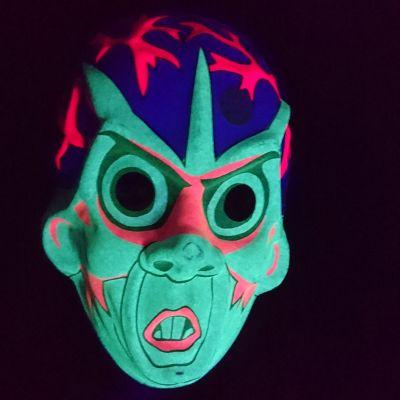 Masque Phosphorescent Halloween Enfants