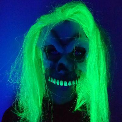 Masque Effrayant Neon