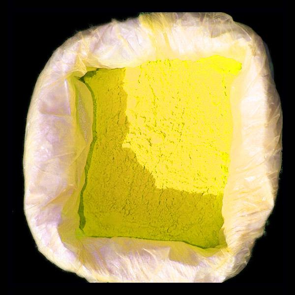 bac poudre Holi jaune