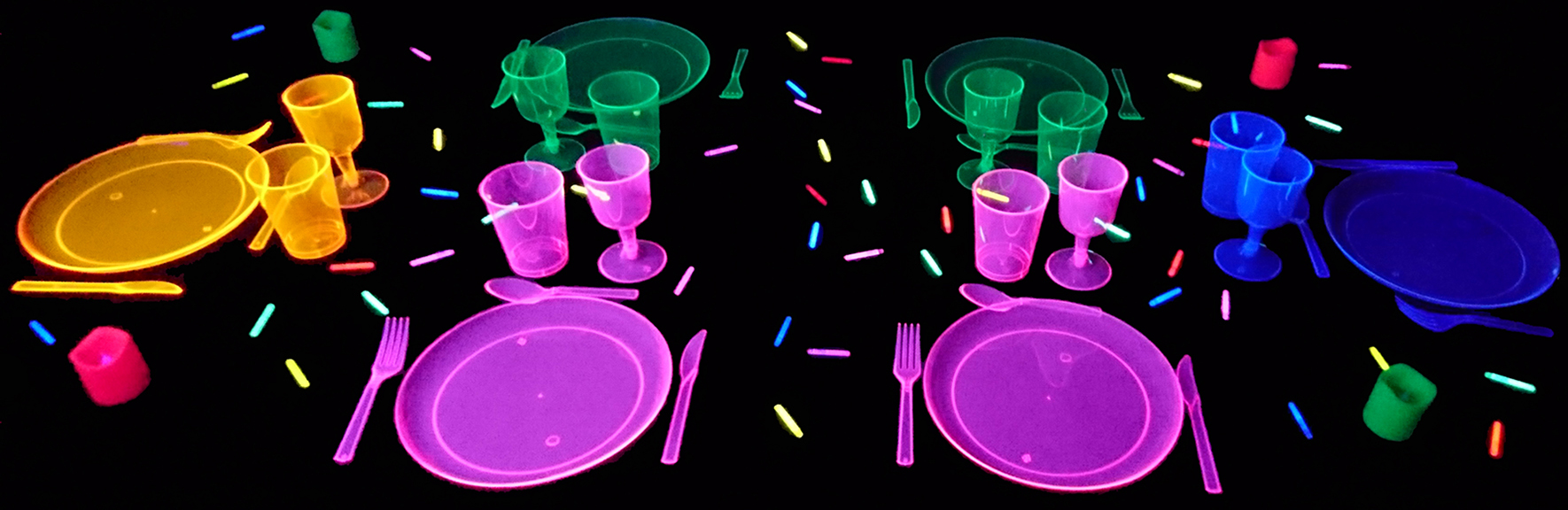 table fluo - Colorant Alimentaire Fluo