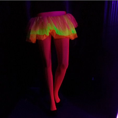 Collants Fluo Résille