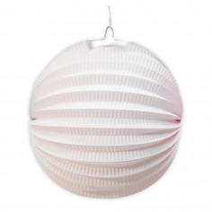 Suspension Fluo Cylindrique Blanche