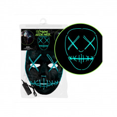 Masque Fluo Led Nightmare