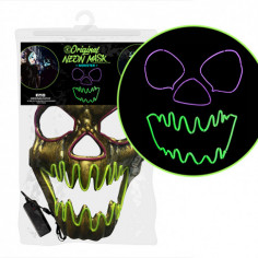 Masque Fluo Led Monster