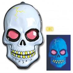 Crâne Fluo en Plastique