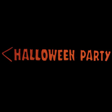 Panneau Fluo Halloween Party