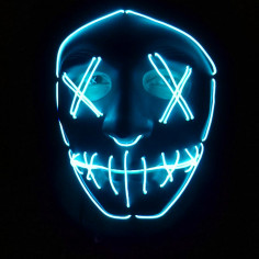 Maske Led-Nightmare