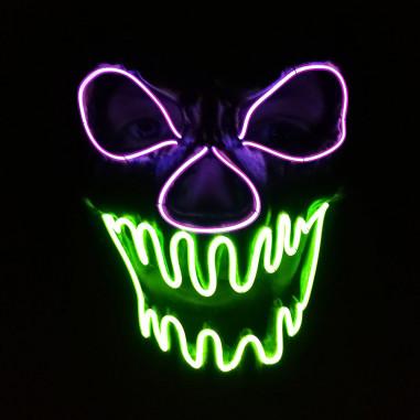 Neon Led Monstermaske