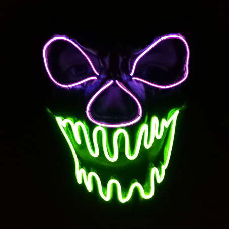 Masque Led Monster