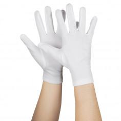 Handschuhe Abend Fluo Weiß