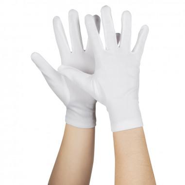 Gant de Soirée Fluo Blanc