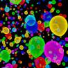 Ballon Fluo Multicolore - Lot de 100