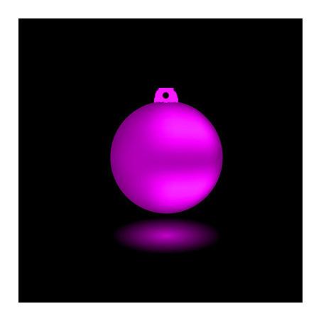 Boule de Noël Fluo