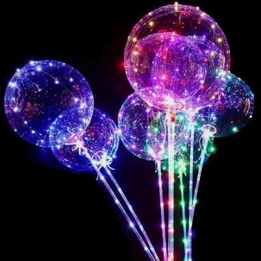 Ballons Méduse LED