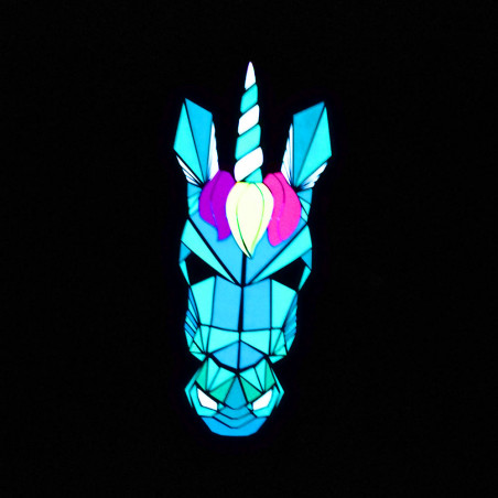 Masque Led Sound Control Licorne