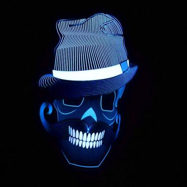 Maske Der Led-Sound Control-Stil
