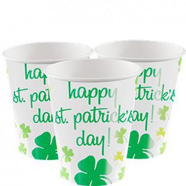 Gobelet St Patrick - Lot de 8