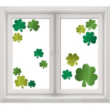 St. Patrick's Day Glitter Deco - 14er Set