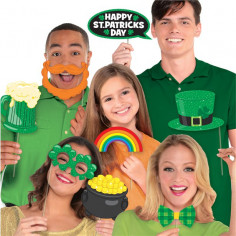 St. Patrick's Day Photobooth Kit