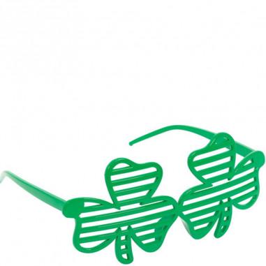 St Patrick gerippte Brille
