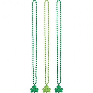 St. Patrick's Halskette - 3er Set