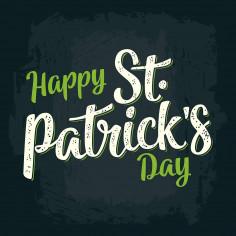 Dessous de Table St Patrick