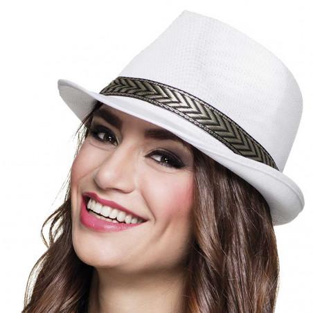 Chapeau Blanc Fluo