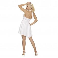 Kleid Neon Weiße Marylin