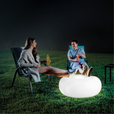 Led leuchtender Hocker