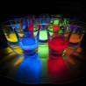 Tablette Hell für flasche und glas