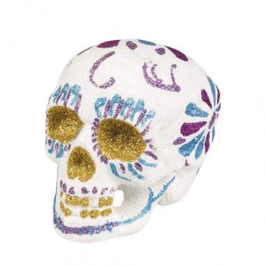 Tête de mort Dia de Los Muertos
