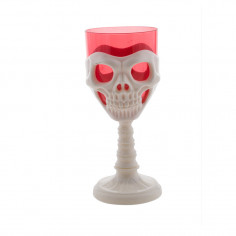 Coupe Squelette Lumineuse Rouge