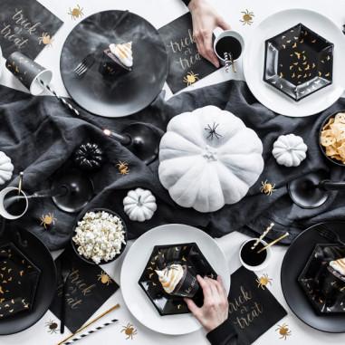 Assiettes en carton Halloween-Lot de 6
