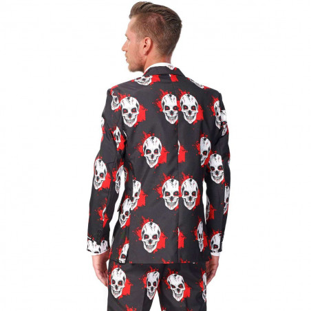 Costume Skull Blood Homme