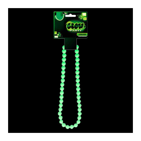 Collier Phosphorescent en perles