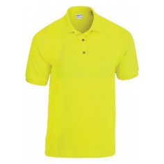Polo Jersey Jaune Fluo