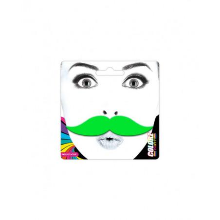 Moustache Fluo Adhésive