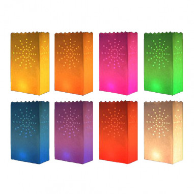 Sacs Décoratifs en carton Multicolores